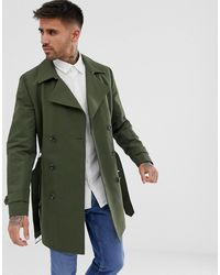ASOS - Waterafstotende Double-breasted Trenchcoat - Lyst