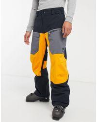 Quiksilver Черные Лыжные Брюки Tr Stretch-черный - Многоцветный