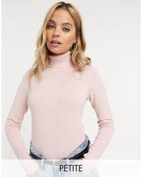 Vero Moda Розовая Водолазка -розовый