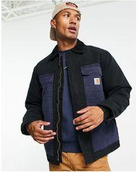 Carhartt WIP Пальто Черного/темно-синего Цвета Og Arctic-черный Цвет