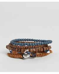 Icon Brand - Nautical Bracelet Pack - Lyst
