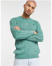 Timberland - Washed Cable Jumper - Lyst