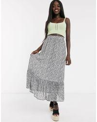 Pieces Maxi Skirt - Black