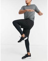 ASOS 4505 2-in-1 Shorts And Tights - Black