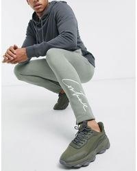 The Couture Club Essentials Slim Fit joggers - Green