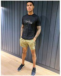 TOPMAN Gym Sports Shorts - Green