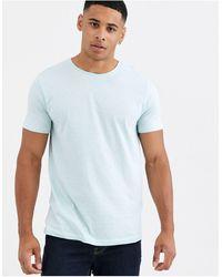 Esprit T-shirt With Mini Print - Blue