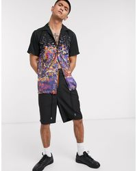 Blood Brother Popper Coaches Shirt - Purple