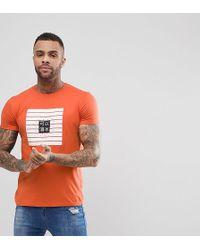 Brooklyn Supply Co. - Color Block Asian Print T-shirt - Lyst
