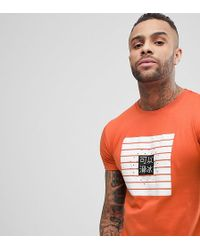Brooklyn Supply Co. Colour Block Print T-shirt - Green