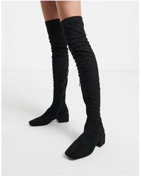 SIMMI Shoes Simmi London - Lacey - Cuissardes - Noir
