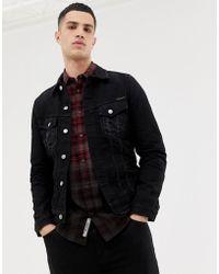 Nudie Jeans Billy - Veste en jean - Noir délavé
