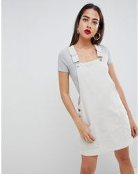 Liquor N Poker - Cord Overall Dress - Lyst
