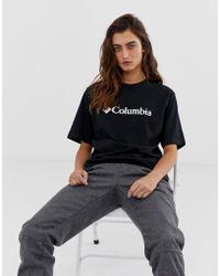 Columbia Csc Basic Logo Tee In Black