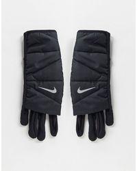 Nike Running - Gants rembourrés pour femme - Noir