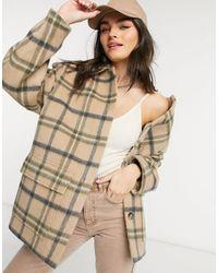 & Other Stories Camicia giacca oversize - Neutro