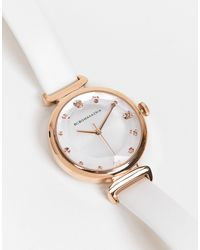 BCBGMAXAZRIA Часы С Отделкой Цвета Розового Золота Bcbg Max Azria-белый