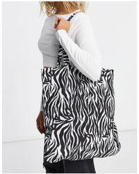 ASOS Organic Cotton Shopper Bag - Multicolor