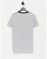 French Connection Stripe T-shirt - Blue