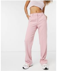 Y.A.S Flared Trousers Co-ord - Pink