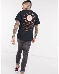 TOPMAN - T-shirt avec imprimé dans le dos - Lyst