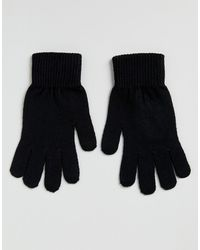 ASOS Schwarze Touchscreen-Handschuhe
