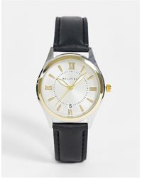 Bellfield Mens Watch With Two Tone Dial - Black