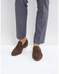 ASOS DESIGN Loafers In Suede With Collapsable Back fHwnNr