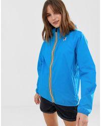 K-Way - Claude 3.0 Water Resistant Zip Through Jacket - Lyst