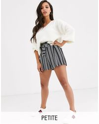 River Island Frill Hem Shorts - Multicolor