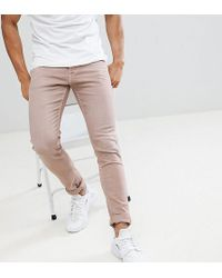 Replay - Jondrill Skinny Jeans In Sand - Lyst