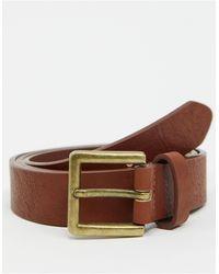 TOPMAN Belt - Brown