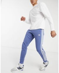 adidas Originals Adicolor Three Stripe Track Trousers - Blue