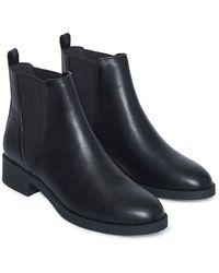 Miss Selfridge Черные Ботинки-челси -черный Цвет