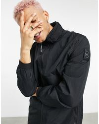 Marshall Artist Chaqueta larga negra técnica acier - Negro
