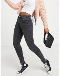 TOPSHOP Jamie Skinny Jeans - Black