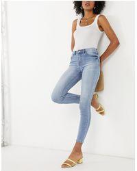 Vila Cropped Jeans - Blue