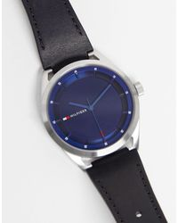 Tommy Hilfiger Часы С Логотипом Collin-черный Цвет