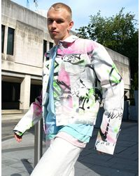 Jaded London Denim Jacket Co-ord - Blue