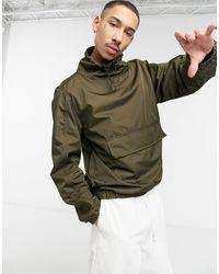 Bolongaro Trevor Нейлоновая Свободная Куртка С Карманом-клапаном -зеленый Цвет