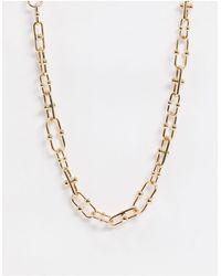 Vero Moda Ожерелье -золотой - Металлик