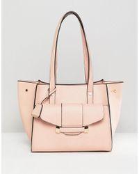 Glamorous Pink Front Pocket Bag
