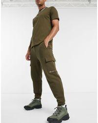 Mennace Essential Signature Cargo jogger - Green