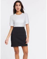 SELECTED Kelly Mid Waist Bodycon Skirt - Black