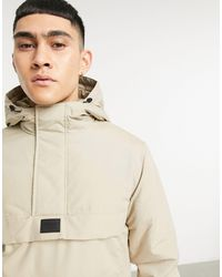 Jack & Jones Бежевая Куртка Без Застежки Originals-бежевый - Естественный