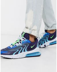 Nike Air Max 270 React Engineered - Sneakers - Blauw
