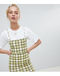 Daisy Street - 90's Cami Dress In Check - Lyst