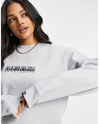 Napapijri Box Sweatshirt - Grey