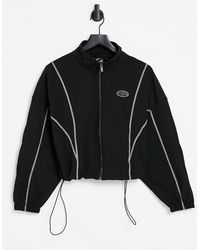 The Couture Club Detail Shell Jacket - Black