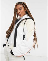 TOPSHOP Sno Ski Jacket - White